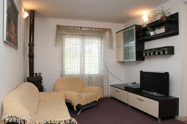 Žrnovska Banja, Living room in the apartment, (pet friendly) and WiFi.