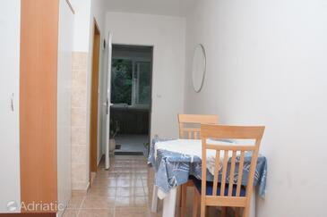Žrnovska Banja, Столовая в размещении типа studio-apartment, Домашние животные допускаются и WiFi.