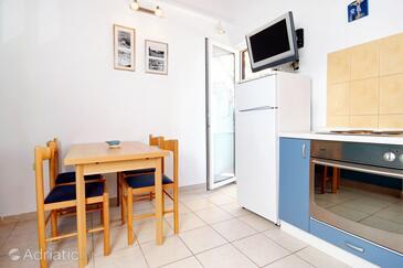 Korčula, Dining room in the apartment, dostupna klima, dopusteni kucni ljubimci i WIFI.
