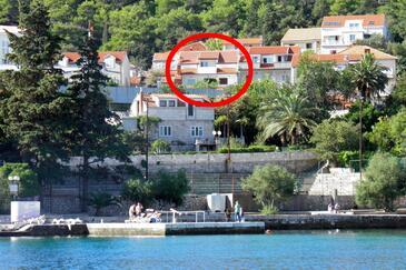 Korčula, Korčula, Property 4427 - Apartments near sea with pebble beach.