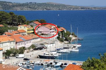 Sali, Dugi otok, Property 443 - Apartments by the sea.