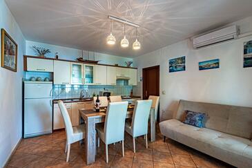 Tri Žala, Obývací pokoj 1 v ubytování typu apartment, dopusteni kucni ljubimci i WIFI.
