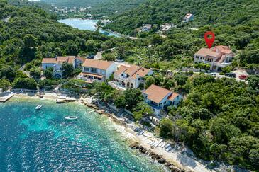 Tri Žala, Korčula, Szálláshely 4432 - Apartmanok a tenger közelében kavicsos stranddal.