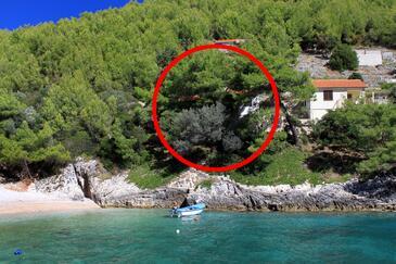 Bratinja Luka, Korčula, Объект 4434 - Апартаменты вблизи моря с галечным пляжем.