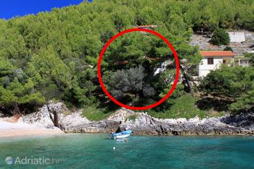 Bratinja Luka, Korčula, Property 4434 - Apartments near sea with pebble beach.