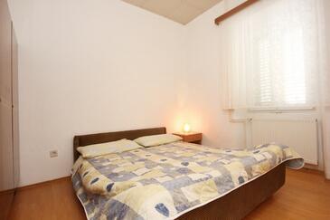 Lumbarda, Spálňa v ubytovacej jednotke room, dopusteni kucni ljubimci i WIFI.