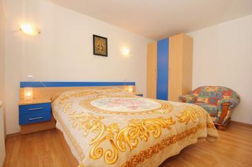 Lumbarda, Spálňa 1 v ubytovacej jednotke room, dopusteni kucni ljubimci i WIFI.