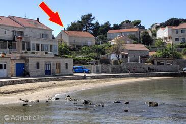 Lumbarda, Korčula, Objekt 4437 - Ubytování v blízkosti moře s písčitou pláží.