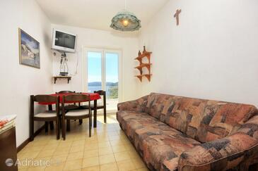 Lumbarda, Столовая в размещении типа apartment, доступный кондиционер, Домашние животные допускаются и WiFi.