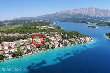 Lumbarda, Korčula, Property 4440 - Apartments by the sea.