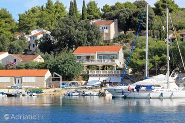 Lumbarda, Korčula, Property 4442 - Apartments and Rooms near sea with pebble beach.