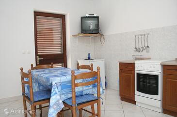 Žrnovska Banja, Dining room in the apartment, dopusteni kucni ljubimci i WIFI.