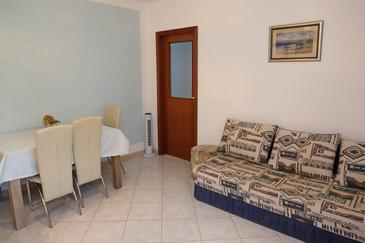 Lumbarda, Salon dans l'hébergement en type apartment, WiFi.