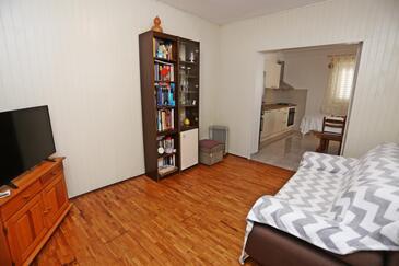 Lumbarda, Woonkamer in the apartment, WiFi.
