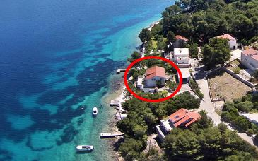 Lumbarda, Korčula, Objekt 4446 - Ubytovanie blízko mora.