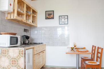 Lumbarda, Столовая в размещении типа studio-apartment, WiFi.