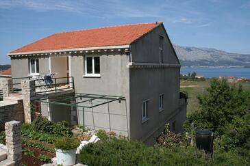 Lumbarda, Korčula, Property 4447 - Apartments with sandy beach.