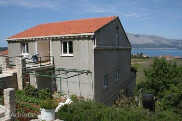 Lumbarda, Korčula, Объект 4447 - Апартаменты с песчаным пляжем.