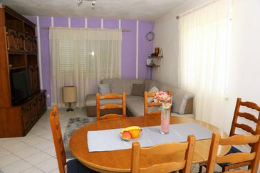 Zavalatica, Living room in the apartment, WIFI.