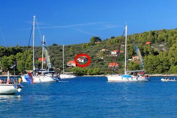 Gradina, Korčula, Objekt 4466 - Ubytovanie blízko mora.