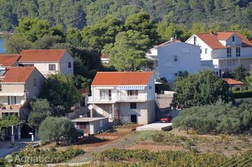 Lumbarda, Korčula, Objekt 4471 - Ubytování s oblázkovou pláží.