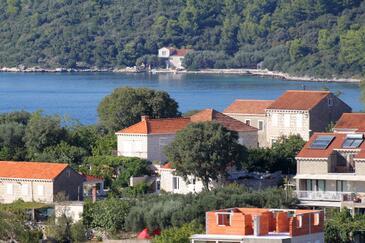 Lumbarda, Korčula, Objekt 4473 - Ubytování s oblázkovou pláží.