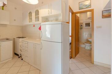 Prižba, Kuchyňa v ubytovacej jednotke apartment.
