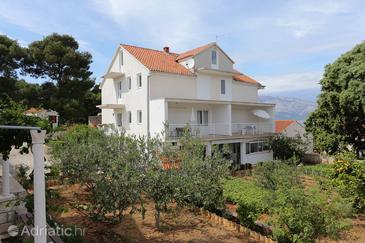 Lumbarda, Korčula, Объект 4480 - Апартаменты вблизи моря с галечным пляжем.