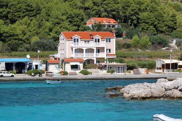 Prižba, Korčula, Objekt 4485 - Ubytovanie blízko mora s kamienkovou plážou.