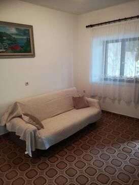 Gršćica, Camera di soggiorno nell'alloggi del tipo apartment, animali domestici ammessi e WiFi.