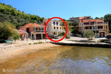 Gršćica, Korčula, Property 4488 - Apartments by the sea.