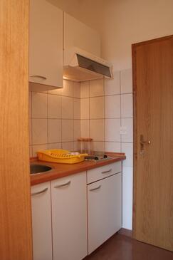 Orebić, Kuchnia w zakwaterowaniu typu apartment.