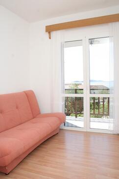 Orebić, Pokój dzienny w zakwaterowaniu typu apartment, WIFI.