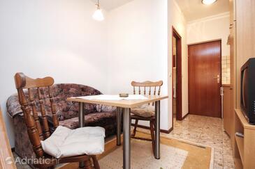 Orebić, Столовая в размещении типа studio-apartment, WiFi.
