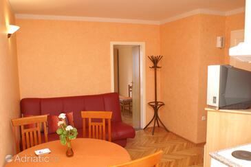 Trstenik, Obývací pokoj v ubytování typu apartment, WiFi.