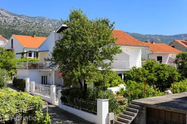 Orebić, Pelješac, Property 4517 - Apartments and Rooms near sea with pebble beach.