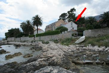 Orebić, Pelješac, Property 4521 - Apartments near sea with rocky beach.