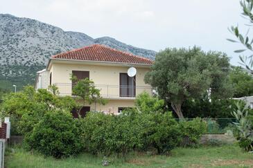 Orebić, Pelješac, Obiekt 4523 - Apartamenty ze żwirową plażą.