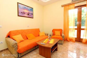 Orebić, Гостиная в размещении типа apartment, доступный кондиционер и WiFi.