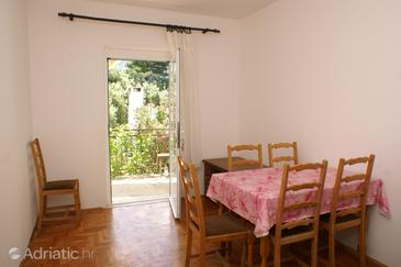 Duba Pelješka, Dining room in the apartment, dopusteni kucni ljubimci.