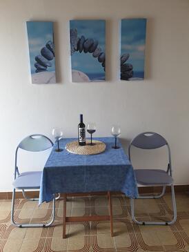 Dingač - Potočine, Jídelna v ubytování typu studio-apartment.