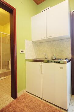 Orebić, Kuchyně v ubytování typu apartment, WiFi.