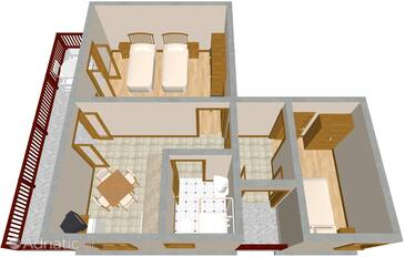 Sali, План в размещении типа apartment, Домашние животные допускаются.