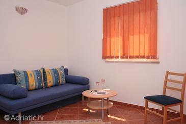 Kučište - Perna, Living room in the apartment, WiFi.
