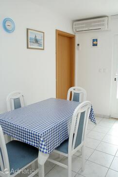 Kučište - Perna, Столовая в размещении типа apartment, доступный кондиционер, Домашние животные допускаются и WiFi.