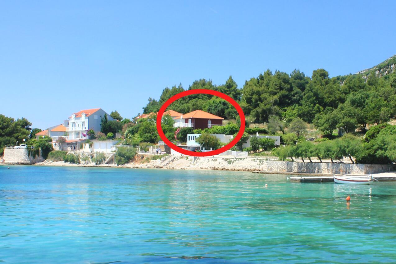 Ferienwohnung im Ort Kuiate - Perna (Peljeaac), Kapazität 4+0 (1013638), Kuciste, Insel Peljesac, Dalmatien, Kroatien, Bild 1