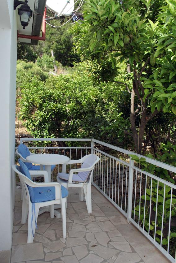 Ferienwohnung im Ort Kuiate - Perna (Peljeaac), Kapazität 2+2 (1013629), Kuciste, Insel Peljesac, Dalmatien, Kroatien, Bild 10