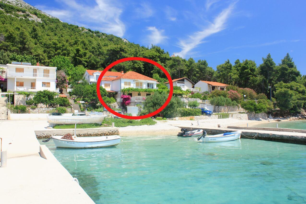 Ferienwohnung im Ort Kuiate - Perna (Peljeaac), Kapazität 2+2 (1013629), Kuciste, Insel Peljesac, Dalmatien, Kroatien, Bild 12