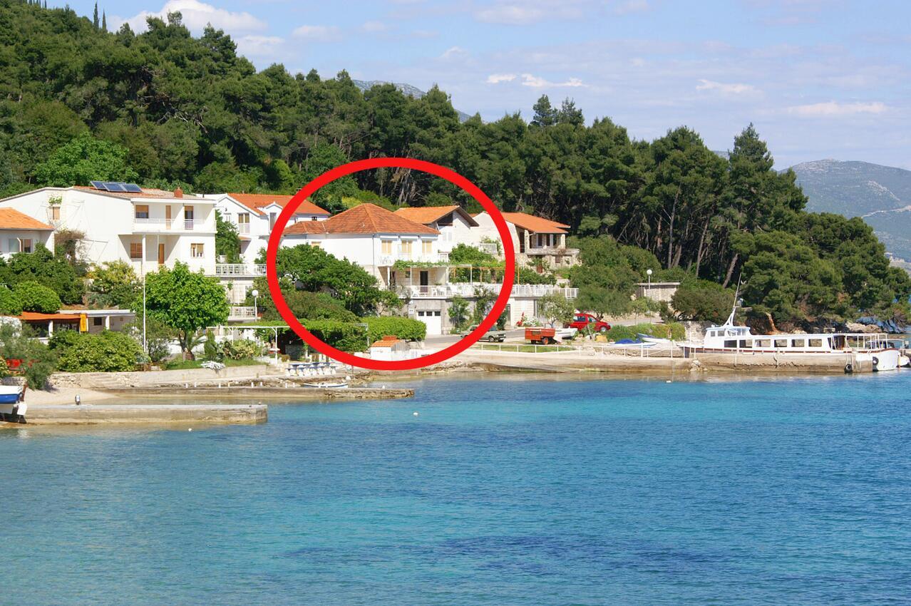 Ferienwohnung im Ort Kuiate - Perna (Peljeaac), Kapazität 2+2 (1013629), Kuciste, Insel Peljesac, Dalmatien, Kroatien, Bild 15