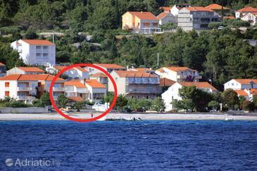 Orebić, Pelješac, Hébergement 4548 - Appartement à proximité de la mer avec une plage de galets.